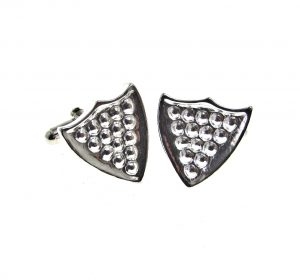 Cornish shield cuff links