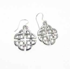 EA2 Celtic Knotwork earrings