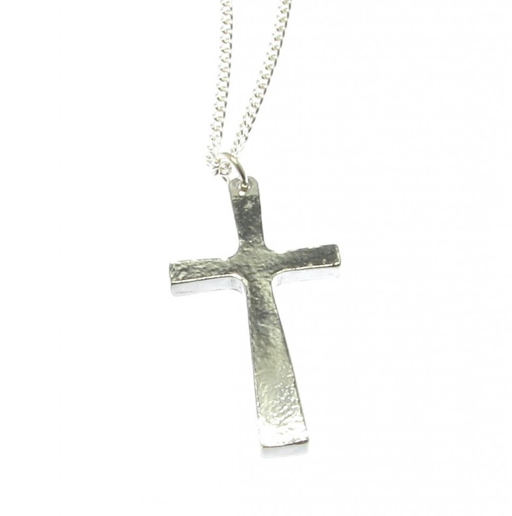 PE10 Cross pendant