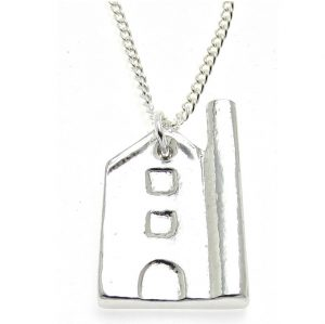 Tin Mine pendant in Cornish tin
