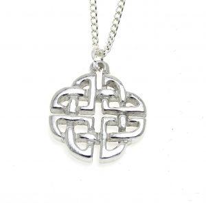 PE21Celtic knot pendant