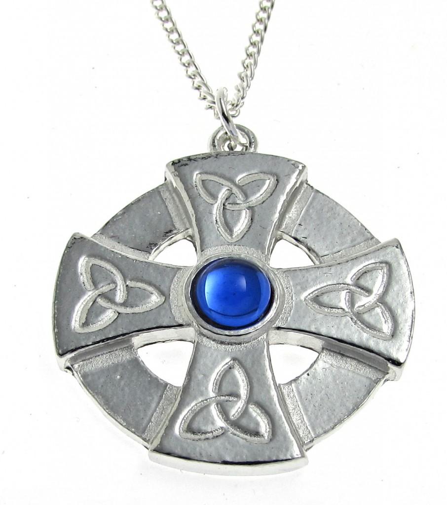PE3-B Blue stone pendant