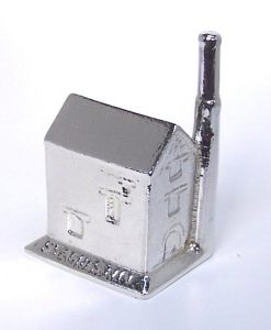 Cornish tin mine with roof cast in Cornish tin