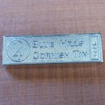 Cornish tin ingot